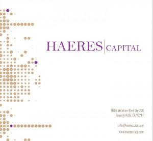 хедж фонд HAERES capital
